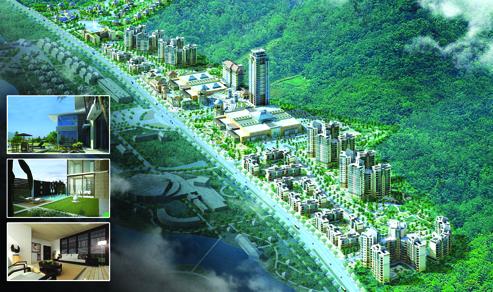 Diamond Bay City khi hình thành sẽ tạo nên một trong những thành phố nghĩ dưỡng trên biển đẹp và hoành tráng nhất từ trước đến nay với đầy đủ tiện ích, các khu mua sắm, giải trí cùng trên 15 resorts và khách sạn nghỉ dưỡng cao cấp từ 4-7 sao trên 15.000 phòng khách sạn, căn hộ resort và 4000 biệt thự cao cấp với nhiều thương hiệu quốc tế tham gia quản lý tạo thành quần thể nghỉ dưỡng như mô hình Palm Island (Dubai), Resort World - Sentosa ở Singapore, hay Genting resort tại Malaysia, và sẽ là một trong những điểm thu hút khách du lịch số một tại khu vực Đông Nam Á.   H16 -Ý tưởng thiết kế trung tâm mua sắm hiện đại tại Diamond Bay city Hiện nay, khu du lịch và nghỉ dưỡng Diamond Bay City đang là một trong những địa danh thu hút khách du lịch trong nước và quốc tế đặc biệt là khách Châu Âu, Châu Á& nhờ có thiết kế và xây dựng quần thể rộng lớn và đầy đủ tiện ích, phù hợp chuẩn nghĩ dưỡng quốc tế, nên dự án liên tục đón nhận các đoàn khách lưu trú dài ngày và các đoàn khách cao cấp đến nghỉ dưỡng và tổ chức các hội nghị hội thảo quốc tế, do đó dự án Diamond Bay Resort & Spa giai đoạn 1 luôn hoạt động trong tình trạng đầy khách. Hiện nay khách du lịch quốc tế và trong nước  đến Nha Trang ngày một nhiều bên cạnh nhiều ưu đãi thiên nhiên, cảnh quan, là giao thông thuận tiện với sân bay quốc tế kết nối với các thành phố trên thế giới đặc biệt các các chuyến bay quốc tế  trực tiếp từ Nga, Hàn Quốc, Hồngkong&và sẽ mở rộng nhiều đường bay quốc tế khác, đã và đang giúp hình thành một thành phố biển Nha Trang sầm uất và nổi tiếng quốc tế và được ví là hòn ngọc viễn đông trong mắt của du khách trong và ngoài nước. Toàn bộ dự án có tổng vốn đầu tư dự kiến 4 tỷ USD, và dự kiến hoàn thành trong 7-10 năm tới, khi hình thành đầy đủ quần thể Diamond Bay city hứa hẹn sẽ là một thành phố Dubai thu nhỏ của Châu Á ngay tại thành phố biển Nha Trang, Tỉnh Khánh hoà.