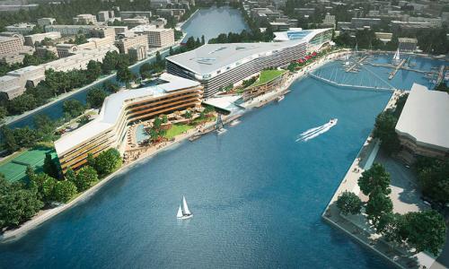 , hội tụ các công trình kiến trúc độc đáo cùng các khu thương mại mua sắm cao cấp dành cho khách du lịch, các khu vui chơi giải trí đa dạng và trong dự án có quy hoạch khu vực dự kiến sẽ xây dựng casino khi được chính phủ cho phép.