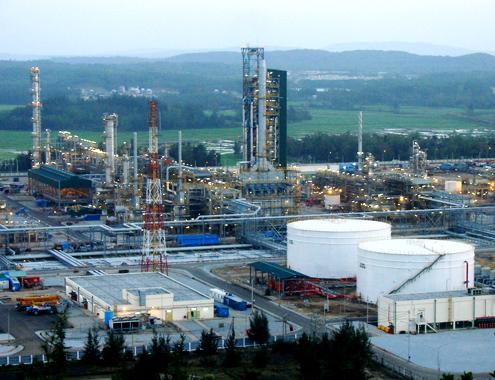 Nhiều ưu đãi cho dự án lọc dầu Nhơn Hội