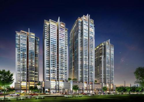 12 1 201536 5581 1421120664 Tòa nhà dự án HP Landmark Tower chuẩn bị cất nóc