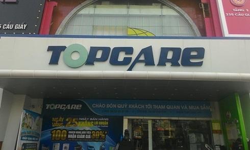 Topcare bất ngờ ngừng bán hàng
