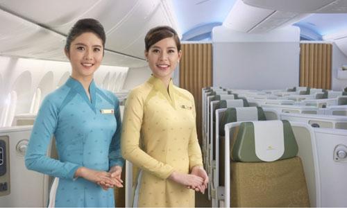 Tiếp viên, phi công Vietnam Airlines đổi đồng phục
