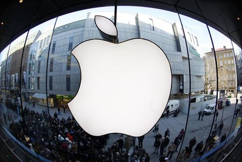 apple 9777 1425691463 Apple quyết định thay AT&T gia nhập Dow Jones