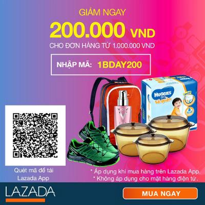 Nhập mã Voucher để được ưu đãi khi mua hàng trên Lazada App