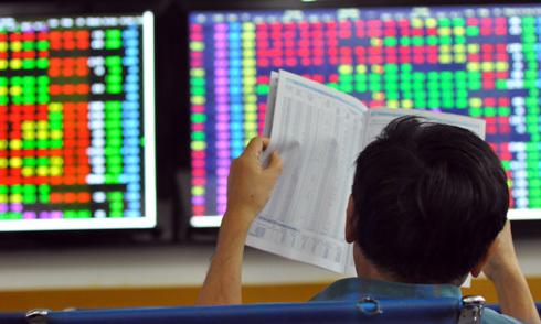 Cổ phiếu bị bán hàng loạt, Vn-Index mất hơn 12 điểm
