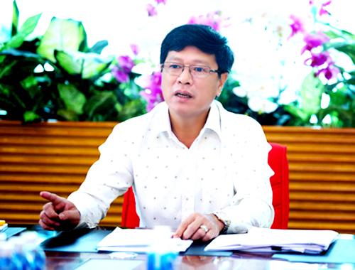 ông Trương Anh Tuấn, chủ tịch HĐQT kiêm TGĐ của Địa ốc Hoàng Quân