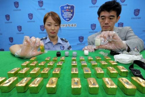 Vàng lậu chi phối thị trường Hàn Quốc