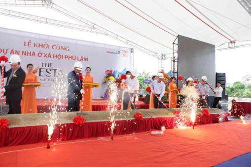 18 5 201537 919761731 2747 1431917154 Dự án nhà ở xã hội The Vesta khởi công xây dựng