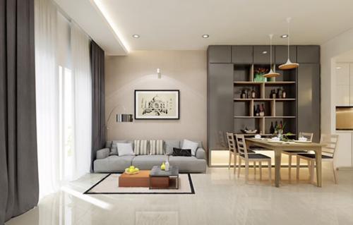 Khu nhà mẫu The Sun Avenue tại 67 Đại lộ Mai Chí Thọ (quận 2, TP HCM) Hotline: 08.37406655 - 0903082262. Website: www.novaland.com.vn.