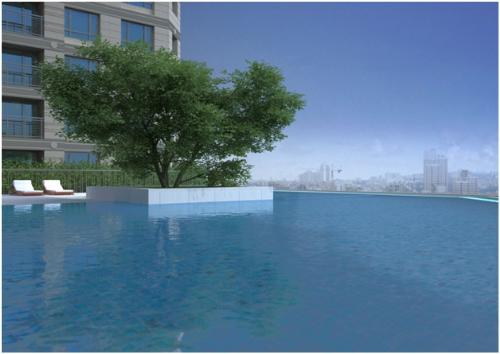 Bể bơi tại dự án D'. Le Roi Soleil - Quảng An