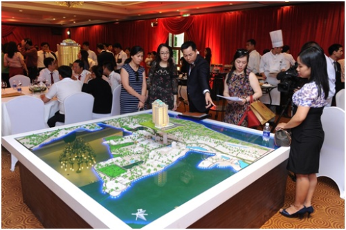 Lễ ra mắt và khởi công dự án D'. Le Roi Soleil Quảng An