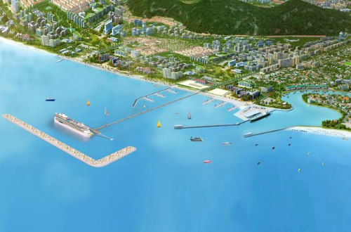 Phu Quoc into a modern construction billion