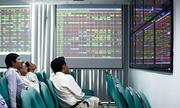 Cổ phiếu ngân hàng đồng loạt rớt giá, Vn-Index mất hơn 5 điểm