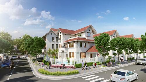 Anh 1 2718 1439777749 39 căn biệt thự đẹp nhất ở dự án khu phức hợp Vincom Hà Tĩnh