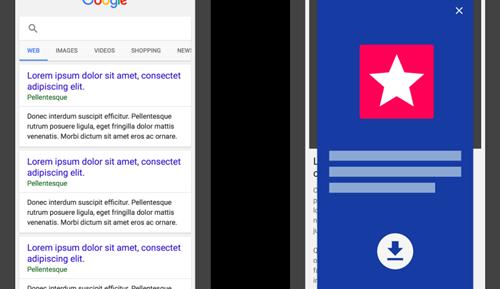 Google phạt các website dụ cài ứng dụng di động