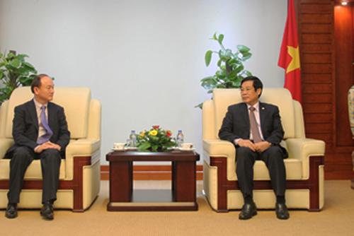 Samsung muốn mở rộng lĩnh vực đầu tư tại Việt Nam