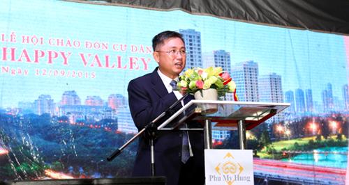 Ông Trương Quốc Hưng là Phó tổng giám đốc trẻ nhất trong Ban Tổng giám đốc Công ty TNHH Liên doanh Phú Mỹ Hưng