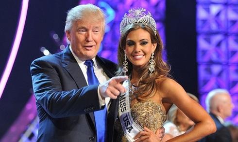Donald Trump bán cuộc thi Hoa hậu Hoàn vũ