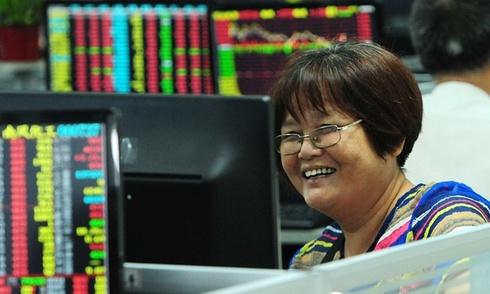 Chứng khoán Trung Quốc tăng mạnh nhất 6 năm