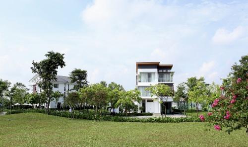 Ra mắt dự án khu biệt thự Mansions và nhà vườn Garden Homes