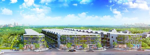 Hinh 1 citibella 1812 1442541186 Ra mắt dự án khu nhà phố biệt lập Citibella
