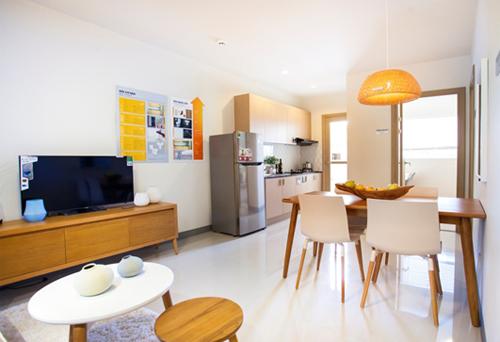 Nhà mẫu căn hộ First Home Premium 700 triệu 2 phòng ngủ, ngân hàng hỗ trợ vay đến 80%