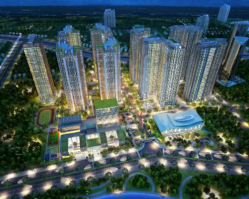 2 11 201522 579895051 5752 1446520654 Dự án Goldmark City có nhiều quảng trường nhất Việt Nam