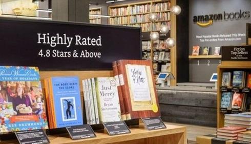 Amazon mở hiệu sách