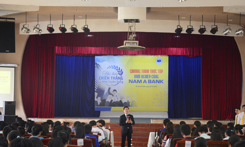 Nam A Bank chia sẻ kinh nghiệm ứng tuyển vào ngân hàng
