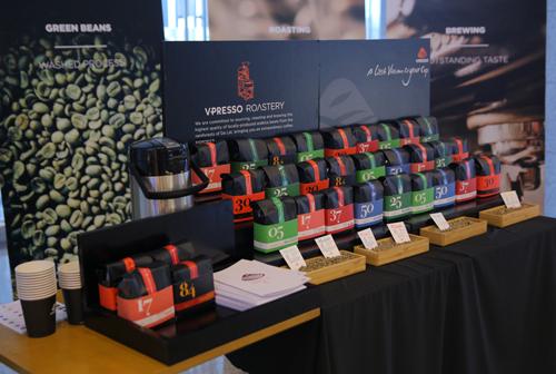 Vpresso Coffee khai trương phòng rang xay với 7 sản phẩm cà phê sạch 3