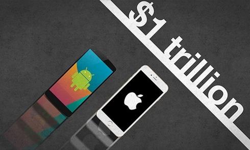 Cuộc đua 1.000 tỷ USD của Google và Apple