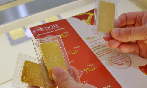 Giá vàng có thể tăng trong tuần cuối năm