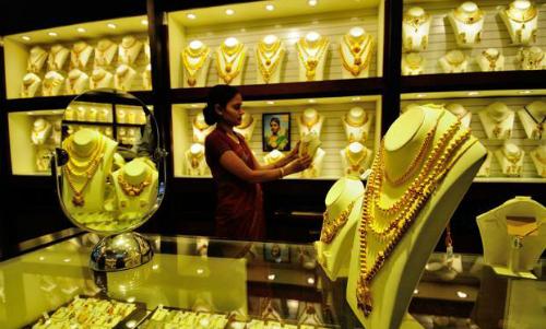 Giá vàng suy yếu phiên đầu tuần