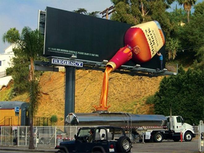 Những biển quảng cáo sáng tạo nhất thế giới