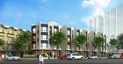 Với gần 600 triệu đồng khách hàng có thể sở hữu nhà ở liền kề gần trung tâm thành phố Hà Nội.
