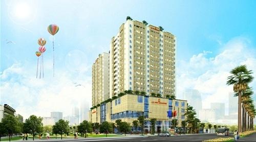 Phối cảnh chung cư Lộc Ninh Singashine