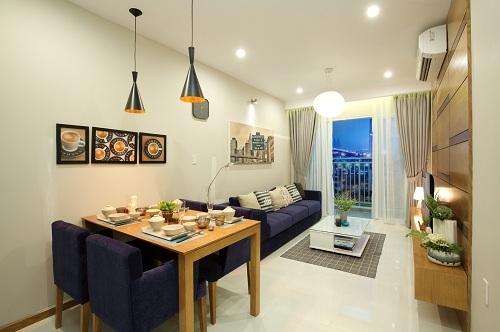 Toàn bộ các căn hộ Luxury Home nằm ở vị trí góc nên có cảnh quan đẹp, dễ dàng đón gió thiên nhiên