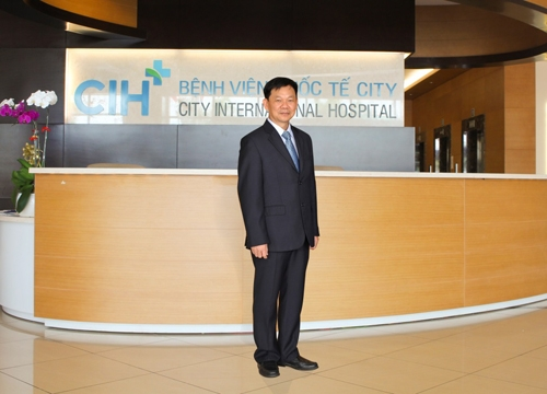 TS-BS Lê Quốc Sử - Tổng Giám Đốc Điều Hành Bệnh viện Quốc tế City