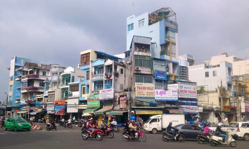 Sài Gòn săn nhà phố mặt tiền cho thuê tại