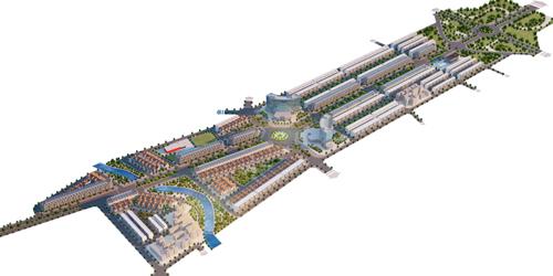 Thái Bình có khu Biệt thự, nhà liền kề mới