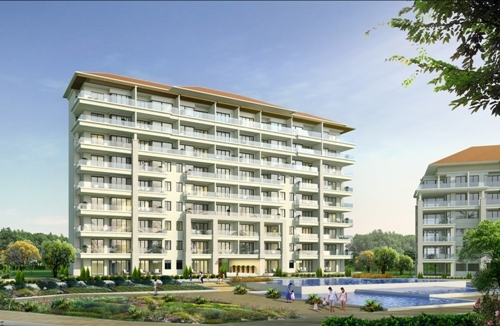 Các căn hộ nghỉ dưỡng cao cấp tại The Ocean Suites.