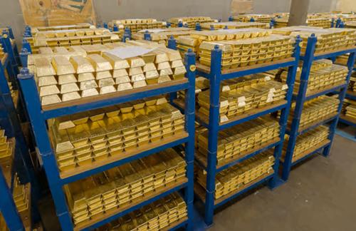 Trung Quốc mua hầm vàng 90 tỷ USD ở London