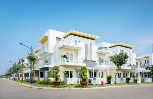 Nhà thực tế tại dự án đã bàn giao cho khách mua đợt 1 Hotline: 0914 49 6868  Website: www.melosagarden.com.vn