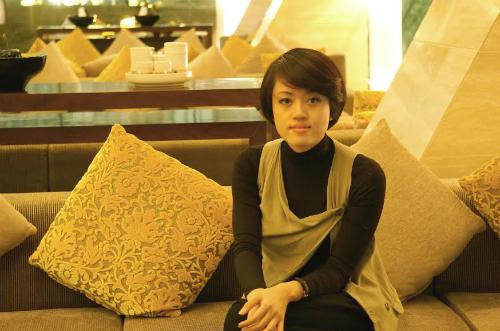 Chị Hương từng bỏ công việc lương nghìn USD để khởi nghiệp.
