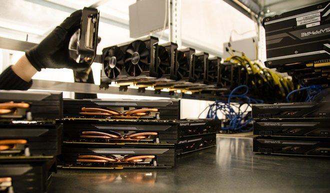 Mỏ Bitcoin khổng lồ ở Iceland