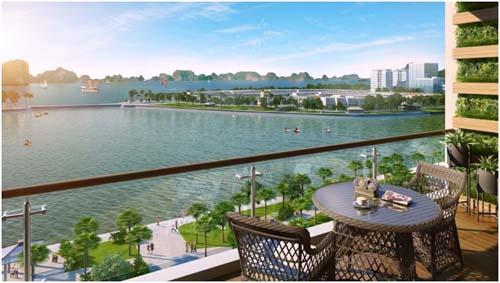 Green Bay Premium với 100% căn hộ có tầm nhìn hướng biển.
