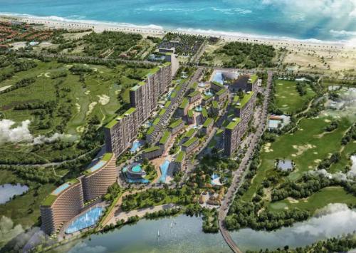 Tổ hợp du lịch giải trí  Cocobay tại Đà Nẵng.