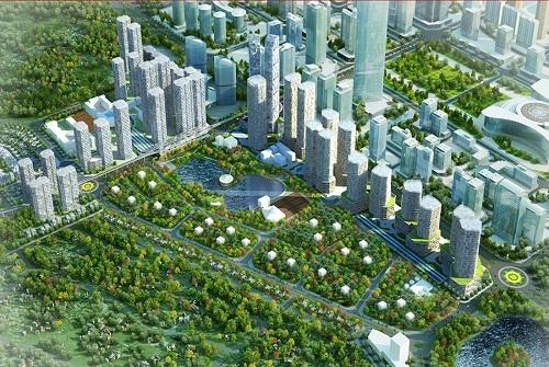 Khu đô thị xanh với 69 tiện ích nội khu vượt trội