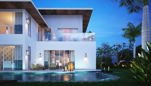 Nếu là một nhà đầu tư có ý định rót vốn vào các villas, biệt thự nghỉ dưỡng, tiêu chí quan trọng chính là sự kết hợp giữa kiến trúc và không gian.
