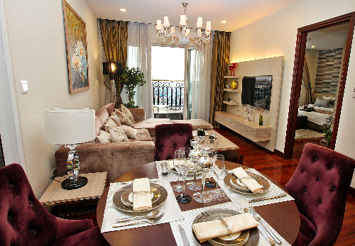 Các phòng trong mỗi căn hộ đều tiếp xúc với ánh sáng tự nhiên thoáng mát. Hotline: 0913 359 595